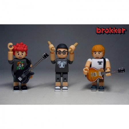 ■brokker/ BLOCK TOYS FOR MUSICIAN Hi-STANDARD(DAY1ver.)[スパイダーウェブ]